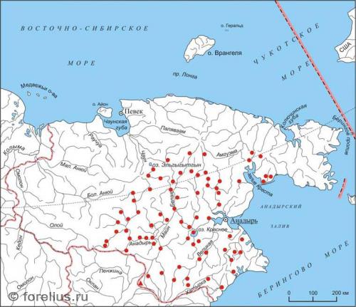Распространение Камчатского Хариуса
